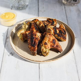 made in oldstead bbq box chicken wings